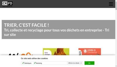 Site internet de Ckfd Environnement