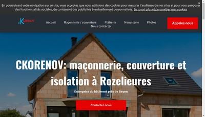 Site internet de Cekovic