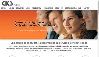 Site internet de Cks Public