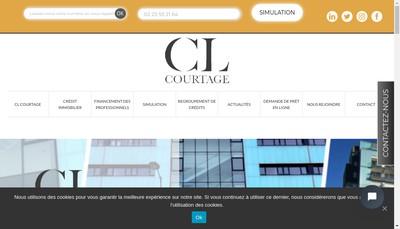 Site internet de Cl Courtage