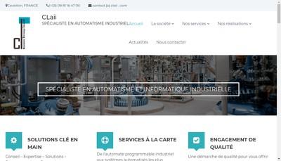 Site internet de Claii
