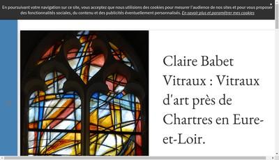 Site internet de Claire Babet Vitraux