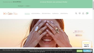 Site internet de Claire Naa