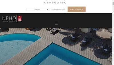Site internet de All Suites Cannes Croisette