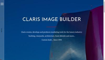 Site internet de Claris