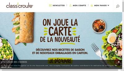 Site internet de Class Croute