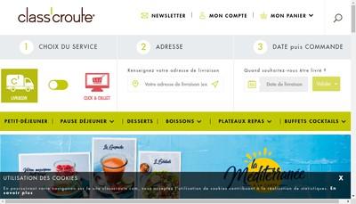 Site internet de Class'Croute