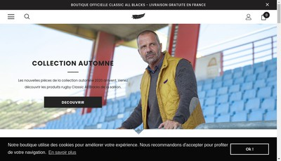 Site internet de New Zealand Rugby Nord