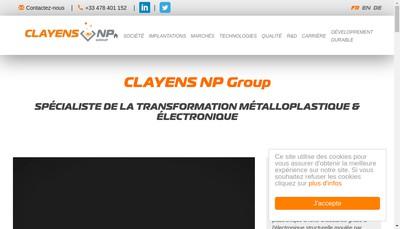 Site internet de Np Vosges