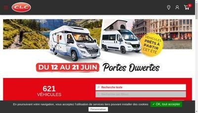 Site internet de Clc Marne la Vallee