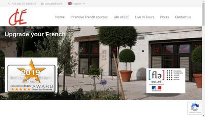 Site internet de Cle