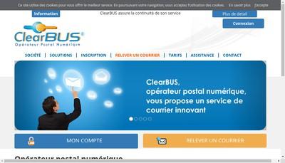 Site internet de Clearbus