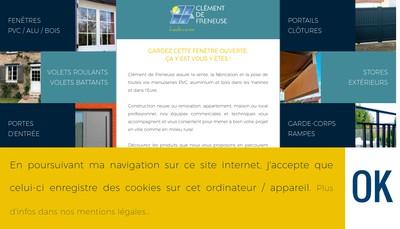 Site internet de Societe Clement de Freneuse