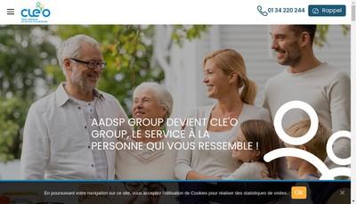 Site internet de Cle'O Group