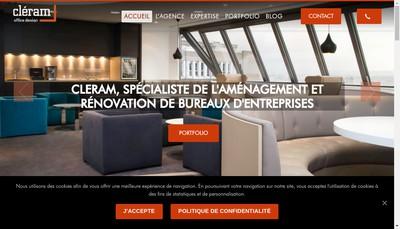 Site internet de Cleram SA