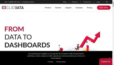 Site internet de Clic Data