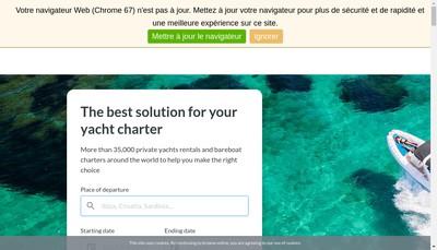Site internet de Clickandboat