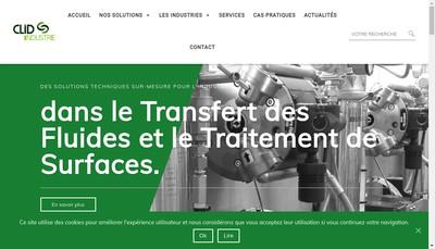 Site internet de Clid Industrie