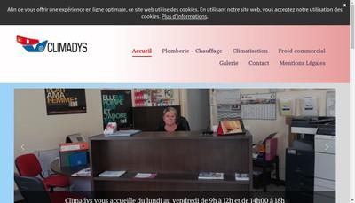 Site internet de Sarlo Climadys