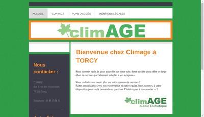Site internet de Climage