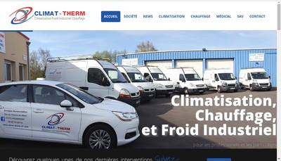 Site internet de SARL Climat'Therm