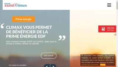 Site internet de Plomax