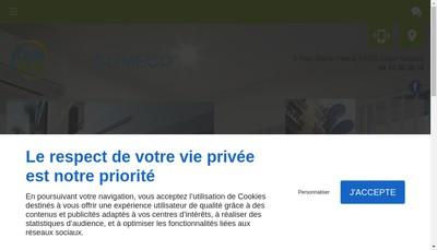Site internet de Climeco