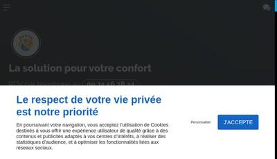 Site internet de Clim & Eau
