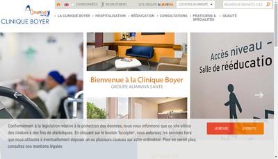 Site internet de Clinique Boyer