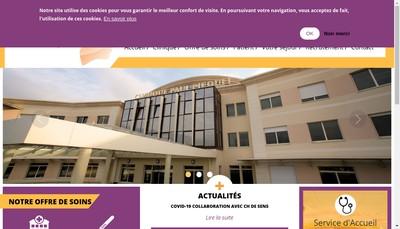 Site internet de Societe d'Eploitation de la Clinique Paul Picquet