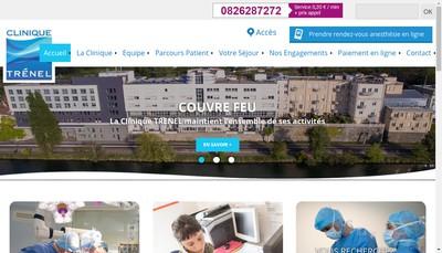Site internet de Clinique Trenel