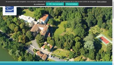 Site internet de Clinique du Chateau de Vernhes