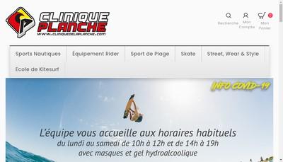 Site internet de Clinique du Bateau
