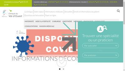 Site internet de SELARL du Docteur la Marca