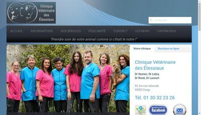 Site internet de Clinique Veterinaire des Docteurs Seznec Lobry et Roret