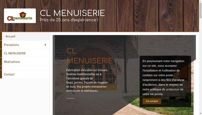 Site internet de Cl Menuiserie