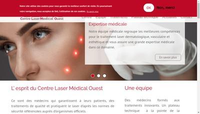 Site internet de Centre Laser Medical Ouest
