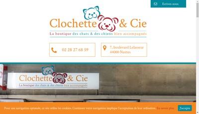 Site internet de Clochette & Cie