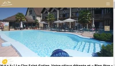 Site internet de Le Clos Deauville Saint Gatien