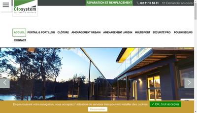 Site internet de Closystem