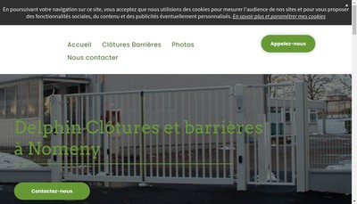 Site internet de SARL Delphin