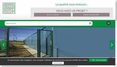 Site internet de Clotures Saniez Idf