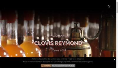 Site internet de Maison Clovis Reymond