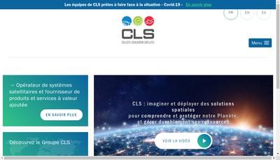 Site internet de Collecte Localisation Satellites