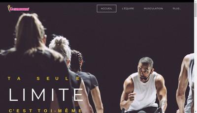 Site internet de Le Samourai - Espace Forme et Bien Etre