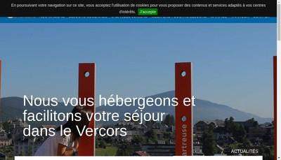 Site internet de Club Vercors SARL SCOP