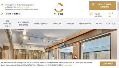 Site internet de Clue Me