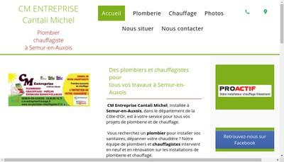 Site internet de Cm Entreprise