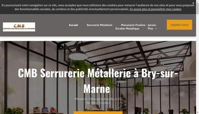 Site internet de Cmb