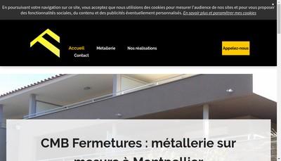 Site internet de CMB (Chambard Menuiseries Batiment)